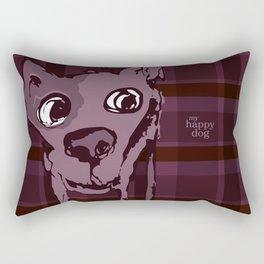 Anton plaid purple Rectangular Pillow