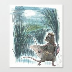 Weasel Falls Canvas Print