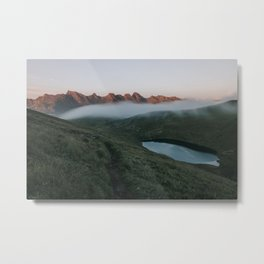 Evening Coat - Landscape and Nature Photography Metal Print