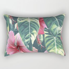 Wild Hibiscus #society6 #decor #buyart Rectangular Pillow
