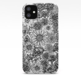 Family of Flowers iPhone Case