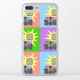 Let's warholize...and say cheese! Clear iPhone Case