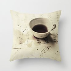 Creation of a Masterpiece  Throw Pillow
