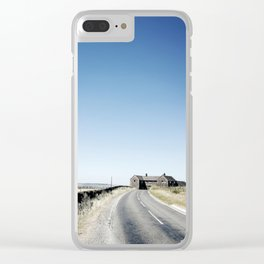 Peak districts Clear iPhone Case