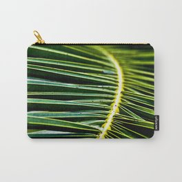 Magic Green Palm Leaves Carry-All Pouch