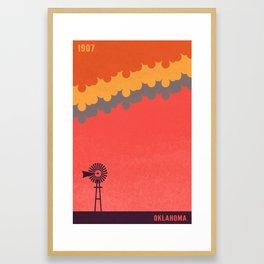 Oklahoma Framed Art Print