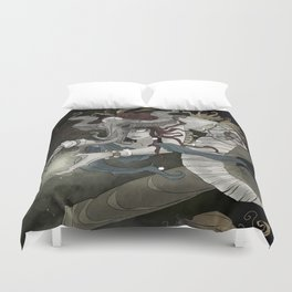 The sea witch Duvet Cover