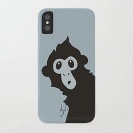 Spider Monkey - Peekaboo! iPhone Case