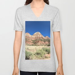 The Beautiful Views of Zion Unisex V-Neck