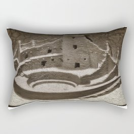 Mesa Verde Cliff Dwellings Rectangular Pillow