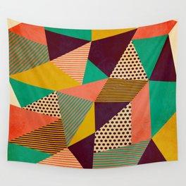 Geometric Love II Wall Tapestry