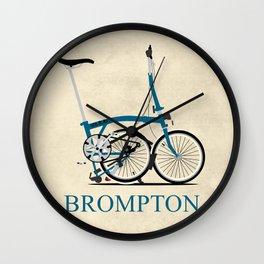 Brompton Bike Wall Clock