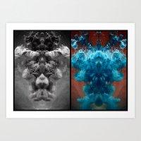 alchemy Art Prints featuring Alchemy by Helemm