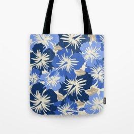 Epic Hibiscus Hawaiian Floral Aloha Shirt Print Tote Bag