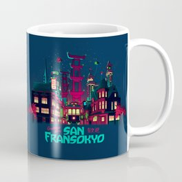 Greetings from San Fransokyo Coffee Mug