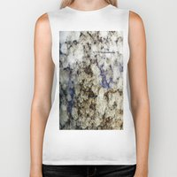 marble Biker Tanks featuring Marble by Catherine1970
