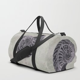 Ammonite study Duffle Bag