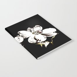The Artistic Touch Of Dogwood Blossoms Notebook
