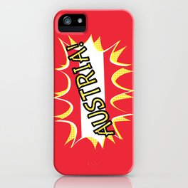 Austria iPhone Case