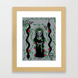 Serpente Jardim Framed Art Print