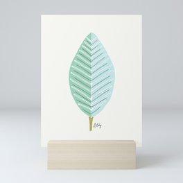 Mid Mod Leaf No. 3 Mini Art Print
