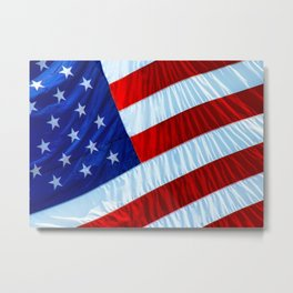 Flag of the United States of America Metal Print