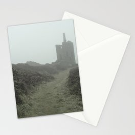 Higher Ball mine in the mist Stationery Cards