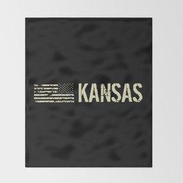 Black Flag: Kansas Throw Blanket