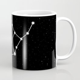 Virgo Star Sign Night Sky Coffee Mug