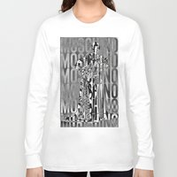moschino Long Sleeve T-shirts featuring obsessed moschino by Claudio Velázquez