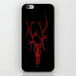 Wendigo Red iPhone Skin