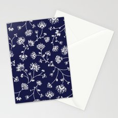 Indigo Floral Trail Stationery Cards