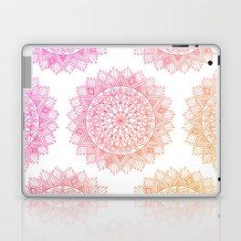 Pink & Orange Mandala Laptop & iPad Skin