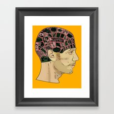 PHRENOLOGY Framed Art Print