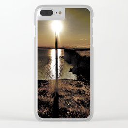 Sun torch Clear iPhone Case