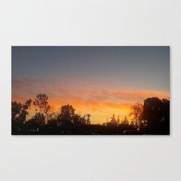 Sunkiss Goodnight Canvas Print