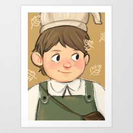 Greg | Over the Garden Wall Art Print