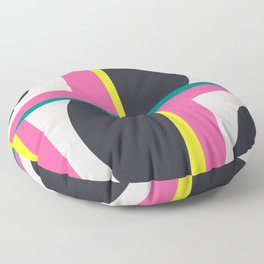 Modern Geometric 65 Pink Floor Pillow