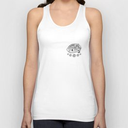 Baby Deer with Peonies Unisex Tank Top