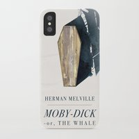 dick iPhone & iPod Cases featuring Moby-Dick by Chad Gowey