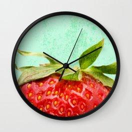 Strawberry Top Wall Clock