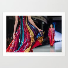 Fashion art Art Print