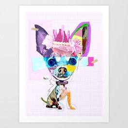 Colorful Dog Art Chihuahua Art Print
