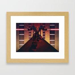 Darth Maul Framed Art Print
