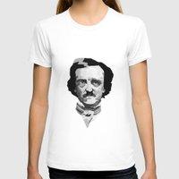 poe T-shirts featuring Poe by Brandi St. Romain