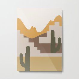 Abstract Landscape #4 Metal Print