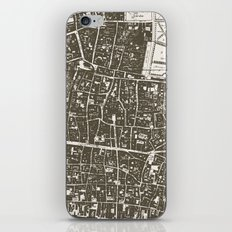 London Map iPhone & iPod Skin