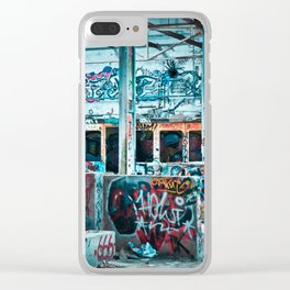 Abandoned Factory Made Art Clear iPhone Case