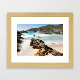 Burgess Beach Framed Art Print