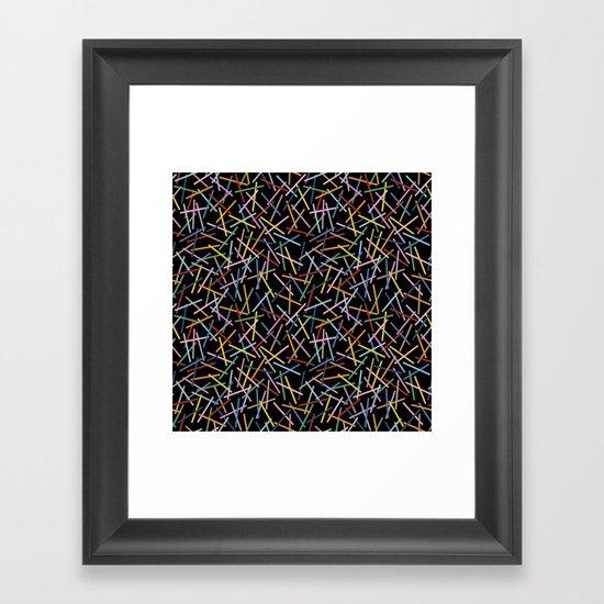 Kerplunk Black 2 Framed Art Print